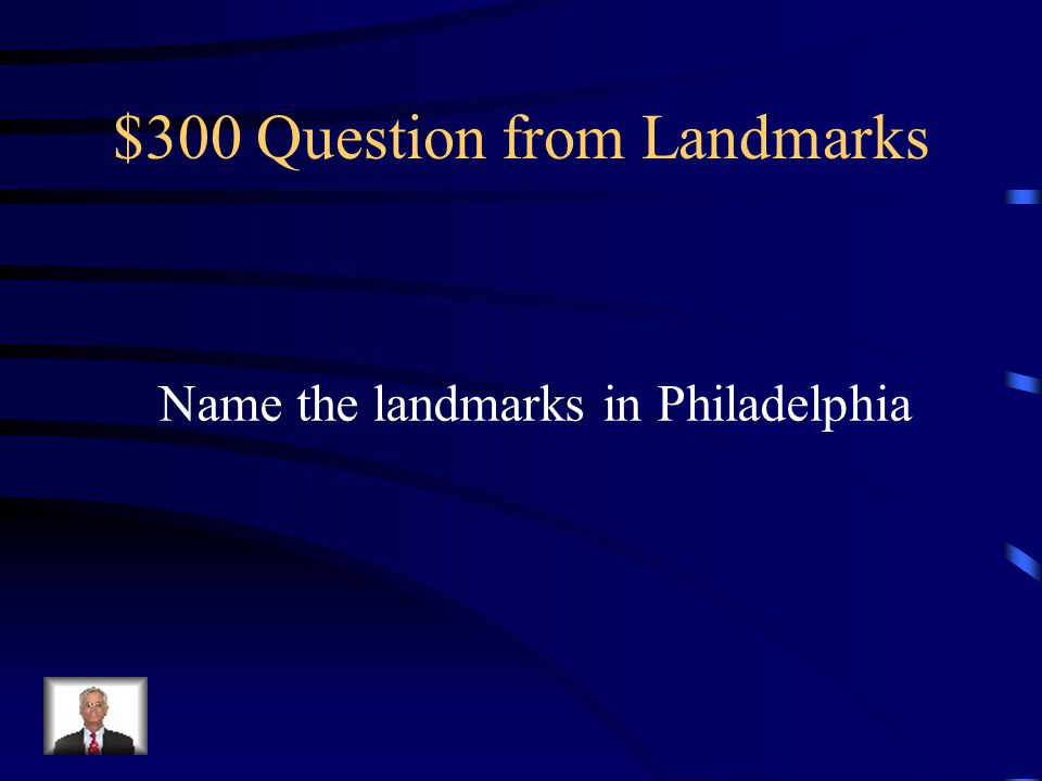 $200 Answer from Landmarks The White House, The Capitol, and the Supreme Court