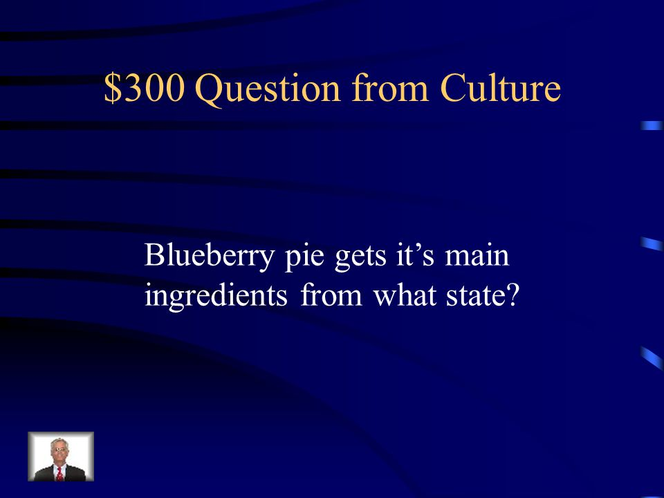$200 Answer from Culture Buffalo wings, potato chips, and baked beans