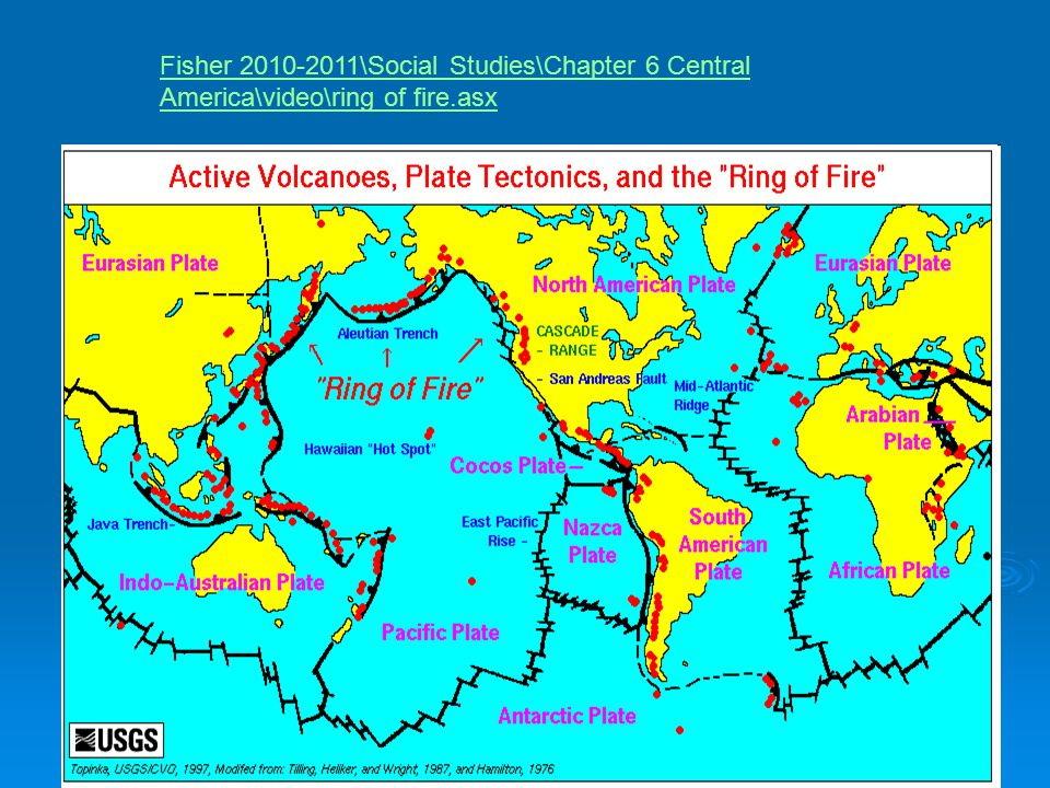 Fisher 2010-2011\Social Studies\Chapter 6 Central America\video\ring of fire.asx