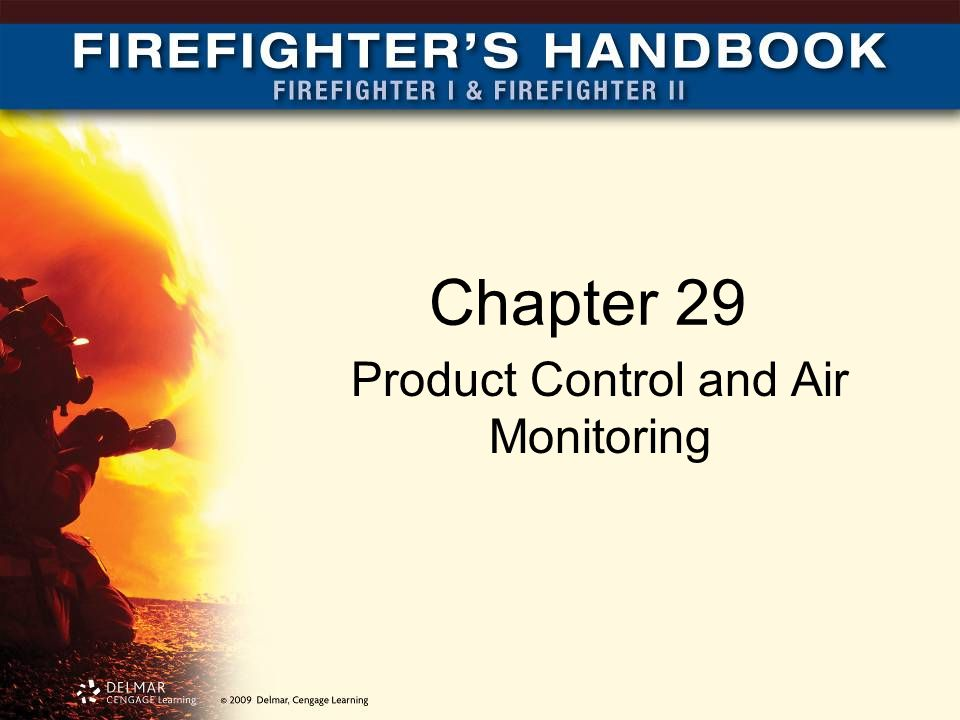 Chapter 29 Product Control and Air Monitoring