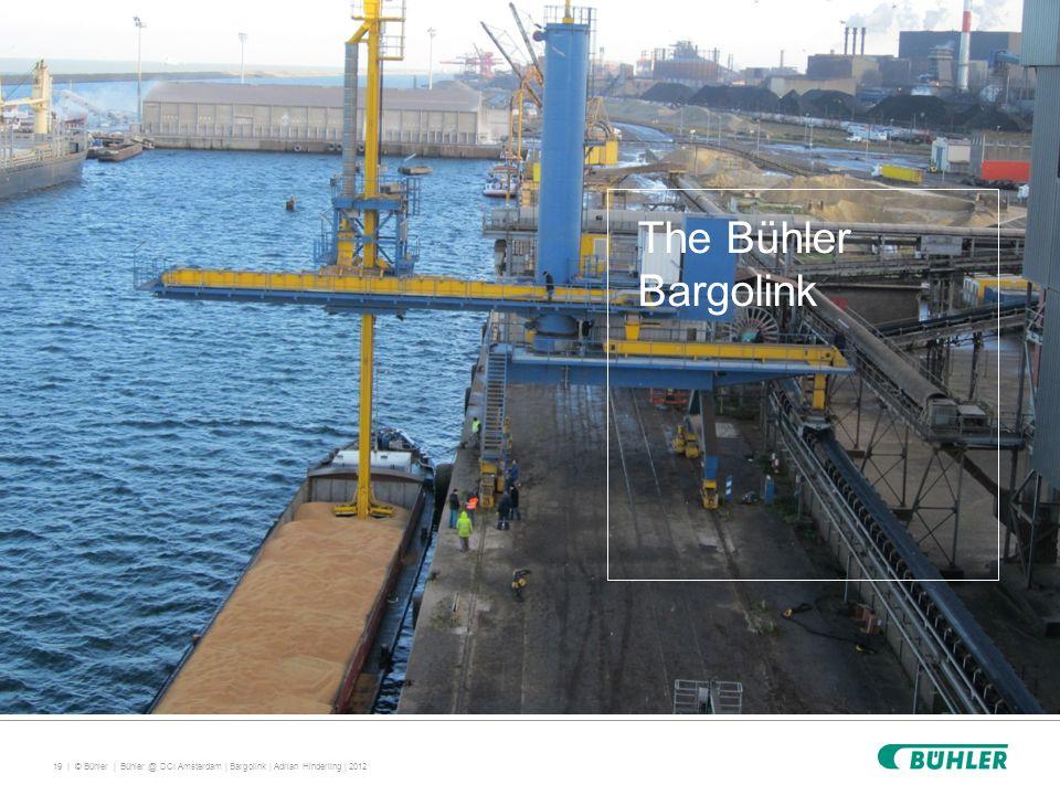 19 | © Bühler | The Bühler Bargolink Bühler @ DCI Amsterdam | Bargolink | Adrian Hinderling | 2012