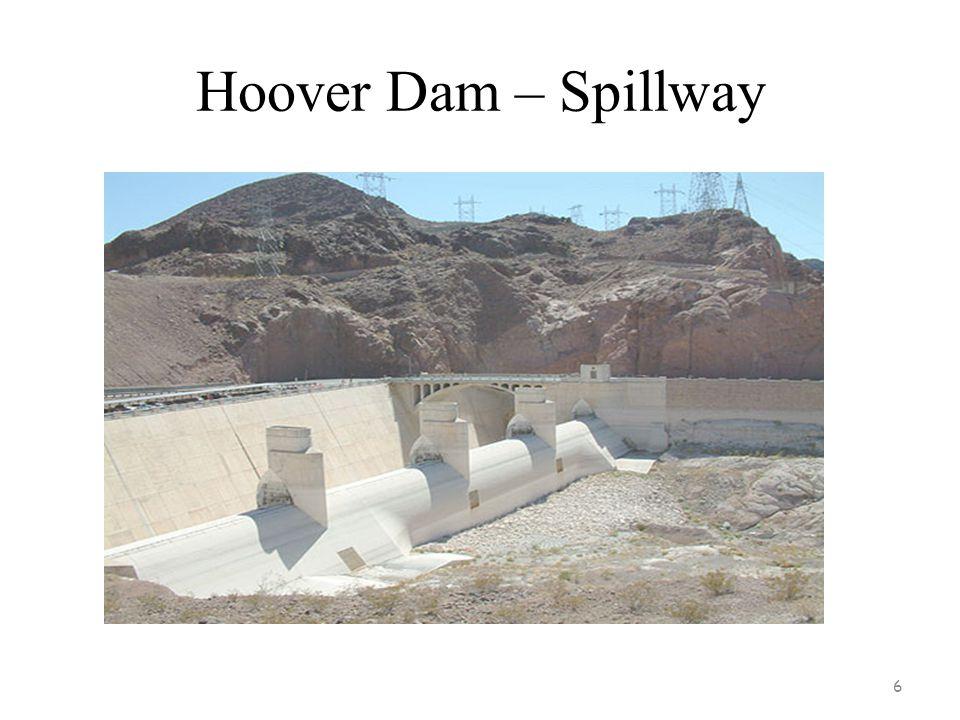 6 Hoover Dam – Spillway