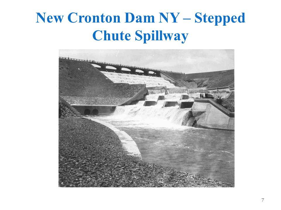 New Cronton Dam NY – Stepped Chute Spillway 7