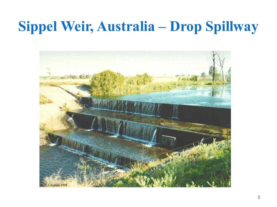 Sippel Weir, Australia – Drop Spillway 8