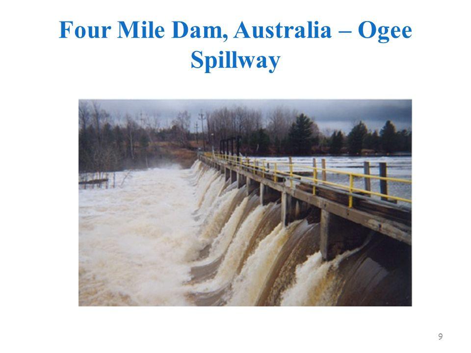 Four Mile Dam, Australia – Ogee Spillway 9