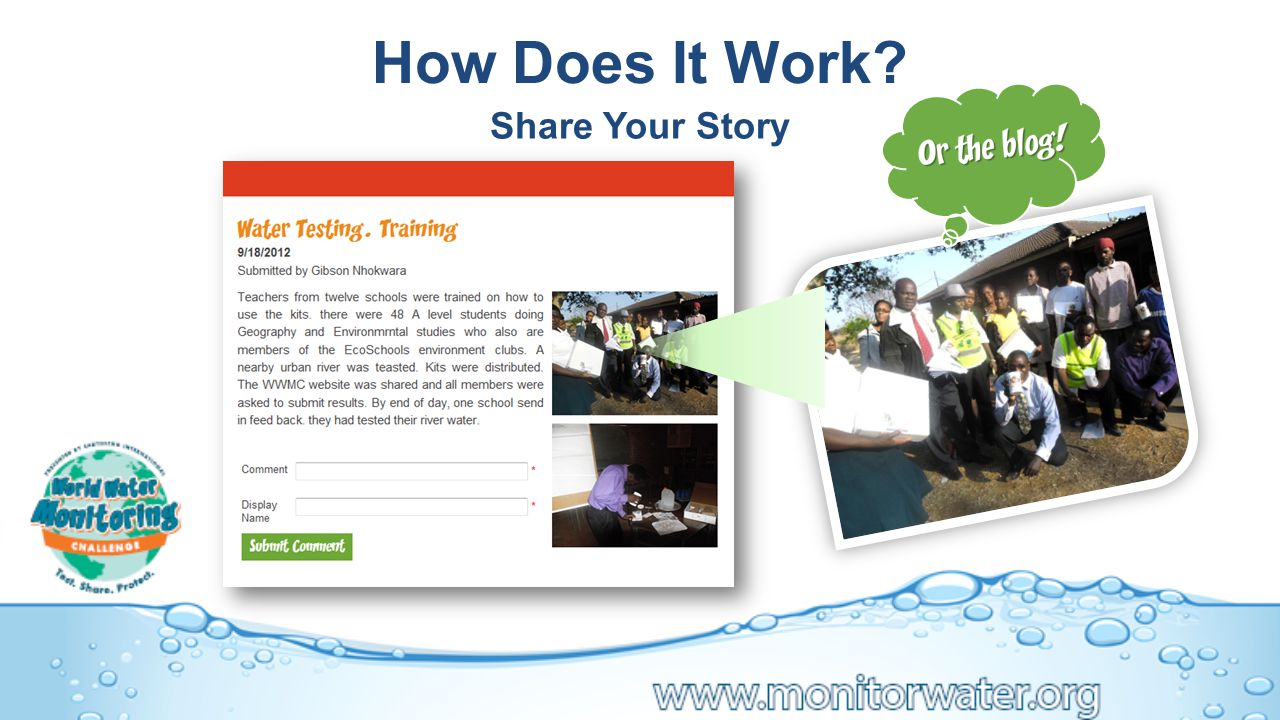 How Does It Work Share Your Story