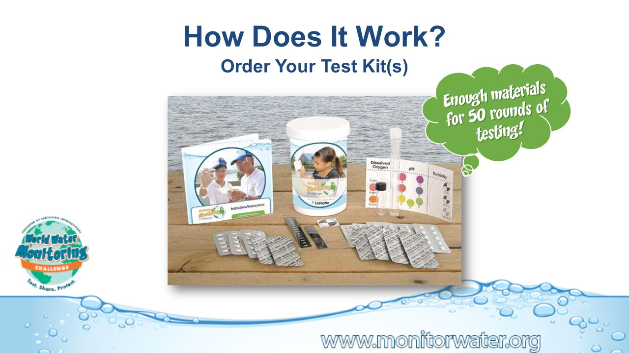 How Does It Work Order Your Test Kit(s)