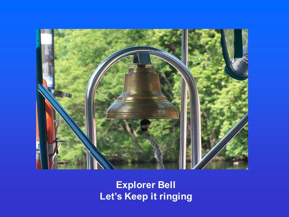 Explorer Bell Let's Keep it ringing