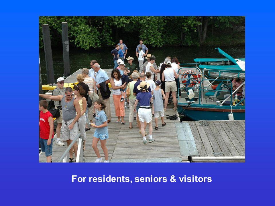 For residents, seniors & visitors