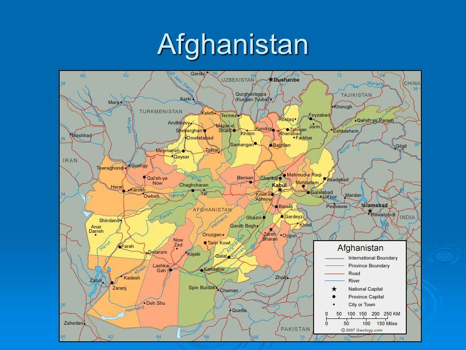 Afghanistan Terrorists
