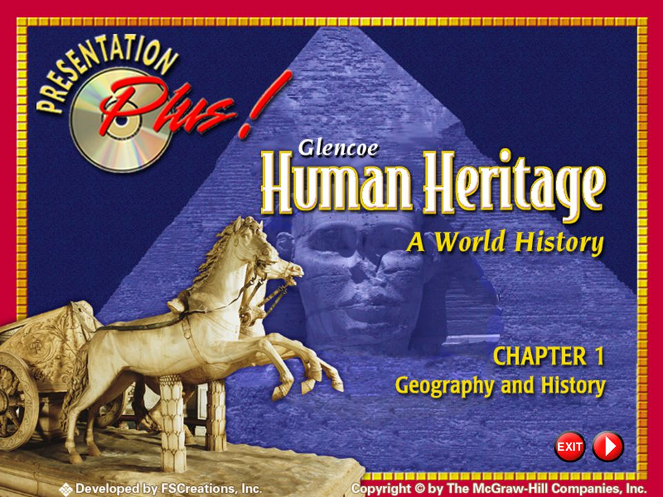 Copyright Information Presentation Plus! Human Heritage: A World History Copyright © by The McGraw-Hill Companies, Inc. Developed by FSCreations, Inc.