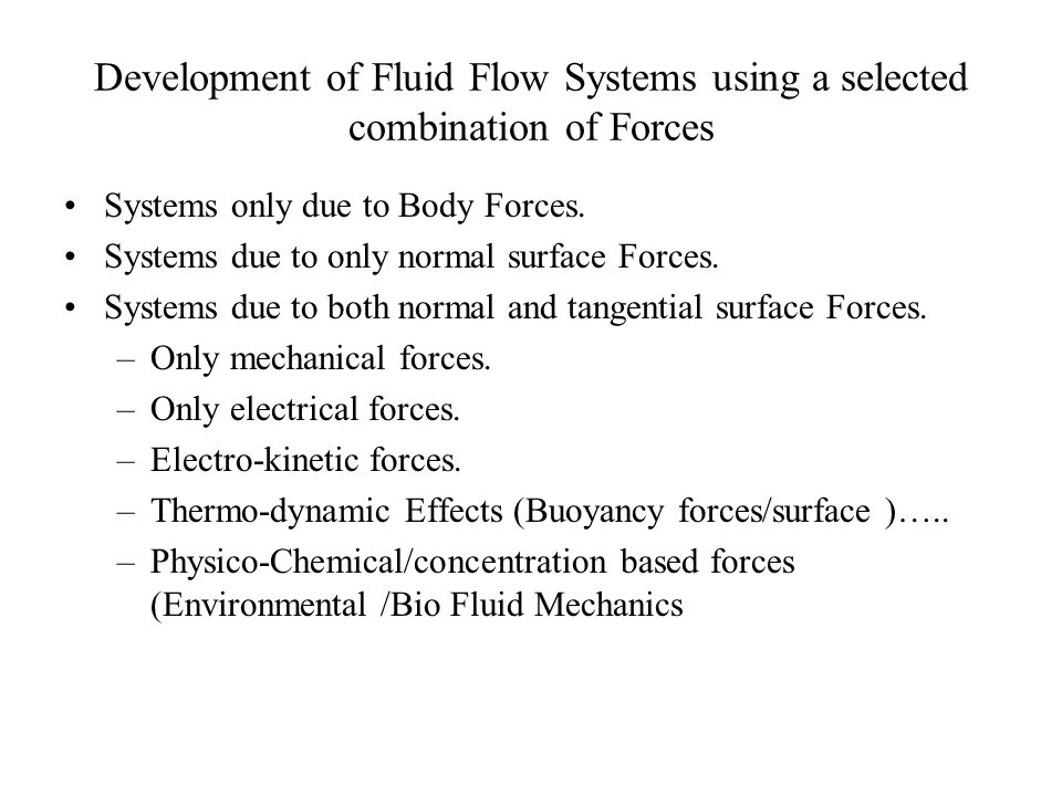 Fluid Flows for Sports