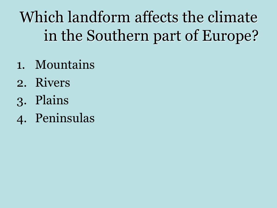 1.Mountains
