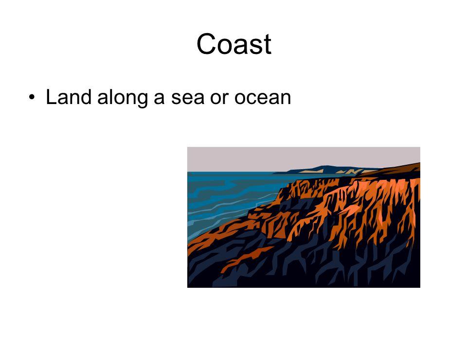 Sea Body of salt water smaller than an ocean