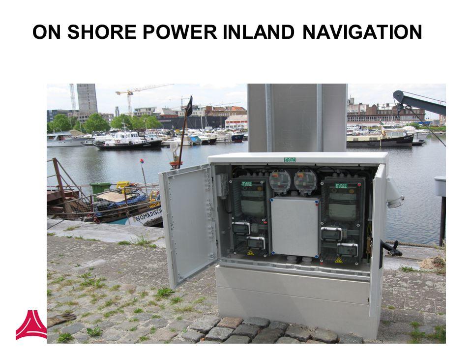 ON SHORE POWER INLAND NAVIGATION
