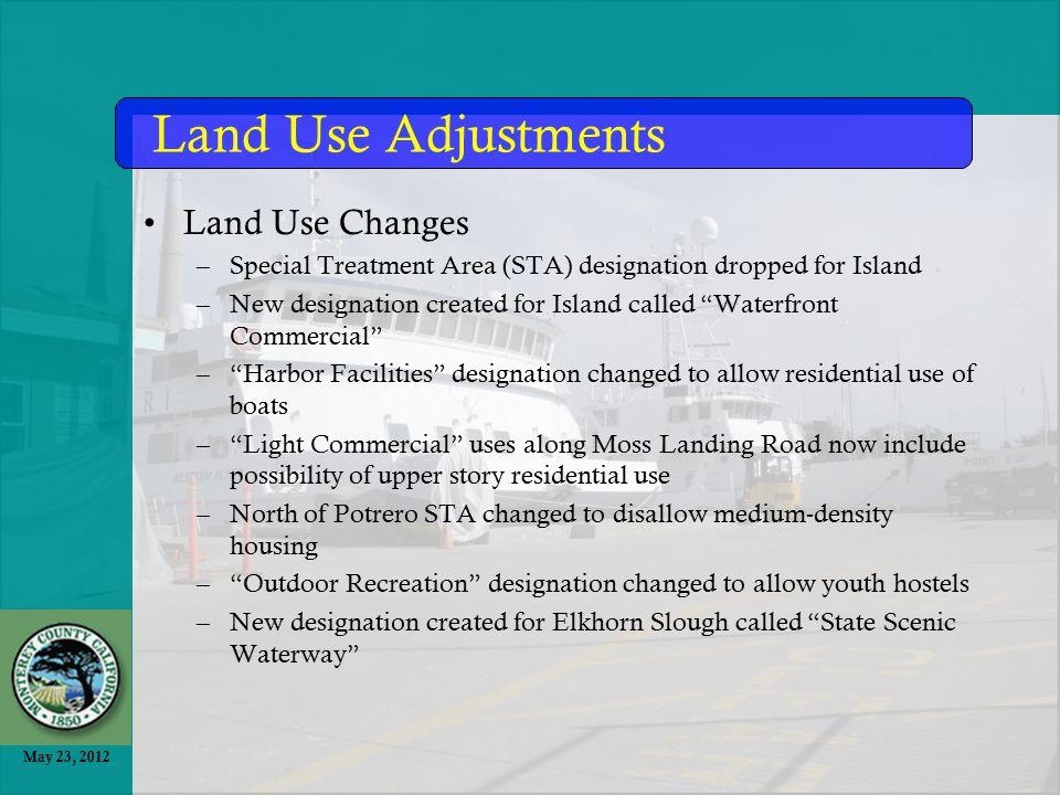 May 23, 2012 Land Use Diagram