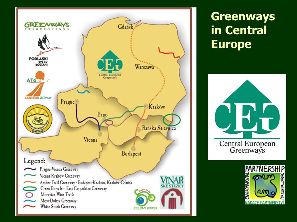 Greenways in Central Europe