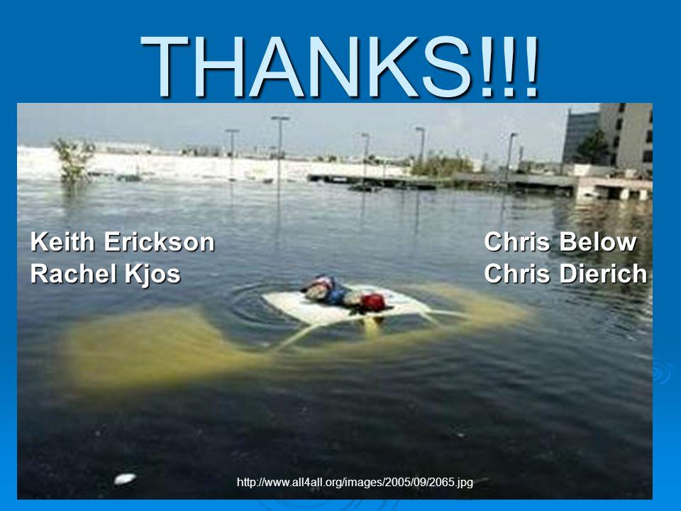 THANKS!!! http://www.all4all.org/images/2005/09/2065.jpg Chris Below Chris Dierich Keith Erickson Rachel Kjos