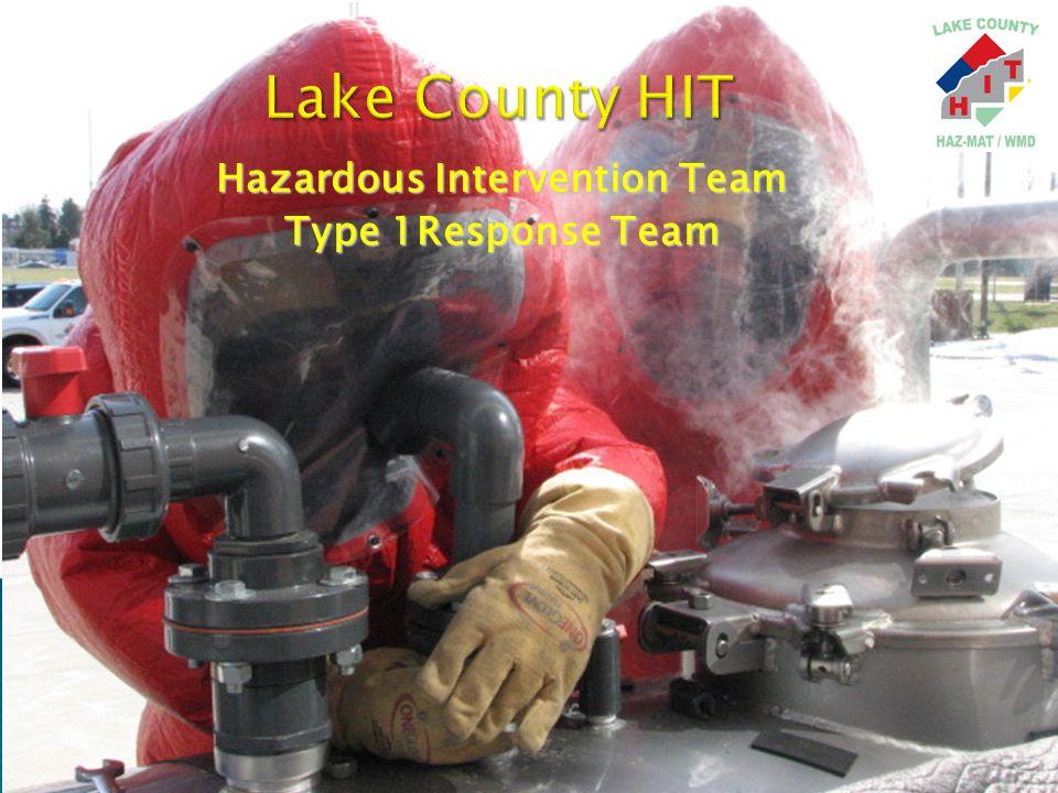 Hazardous Intervention Team Type 1Response Team