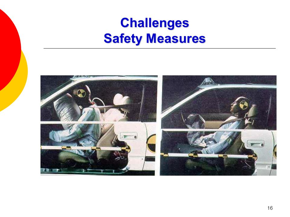 16 Challenges Safety Measures