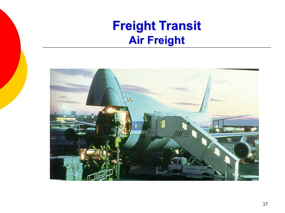 37 Freight Transit Air Freight