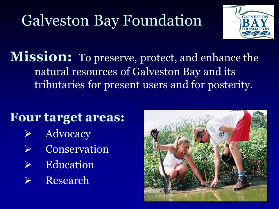 Galveston Bay Infrastructure Issues  Two Main Issues of Balance between Environment and Infrastructure Massive Industrial Complex  Galveston Bay hosts nearly 1/2 of the total petrochemical manufacturing and 1/3 of the petroleum refining in the U.S.