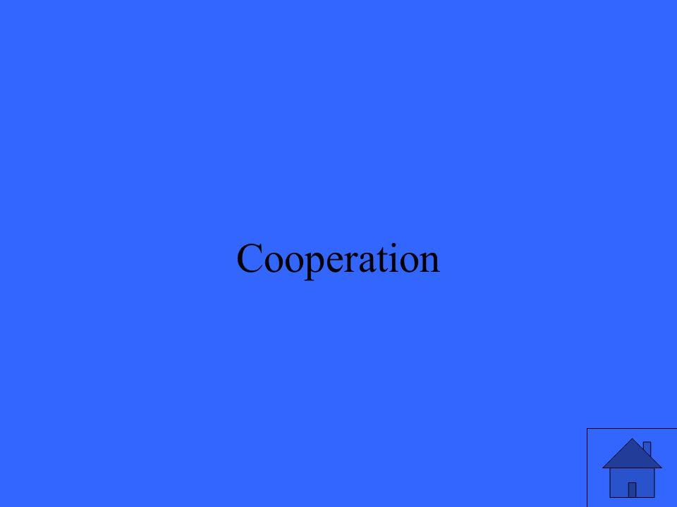 25 Cooperation