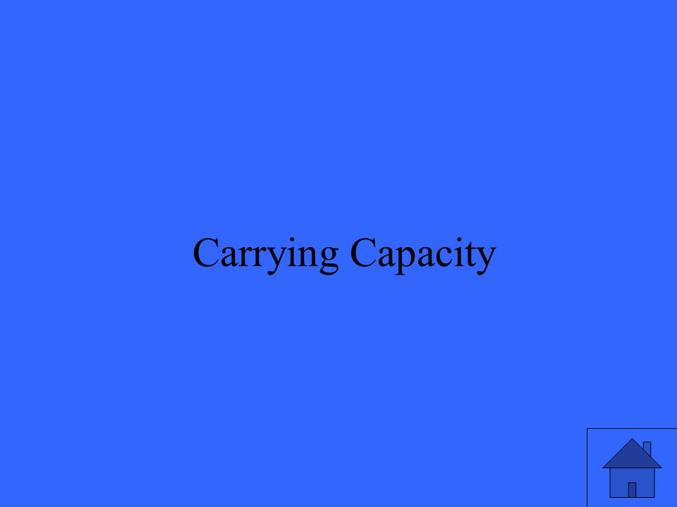 43 Carrying Capacity