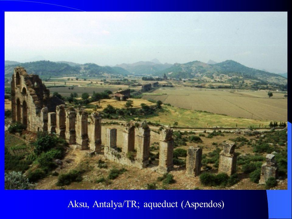Aksu, Antalya/TR; aqueduct (Aspendos)