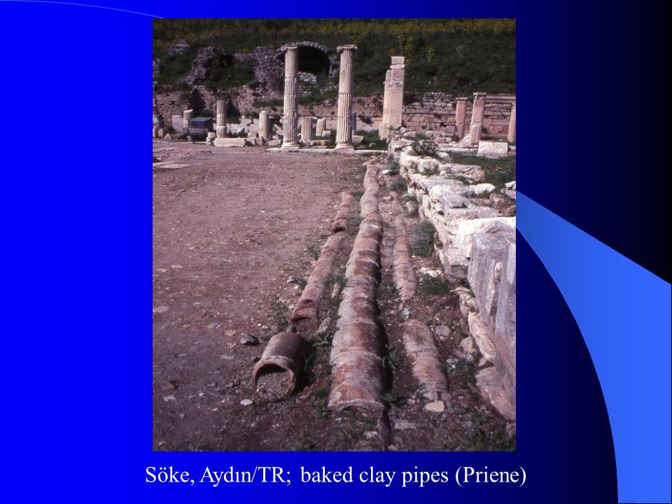Söke, Aydın/TR; baked clay pipes (Priene)