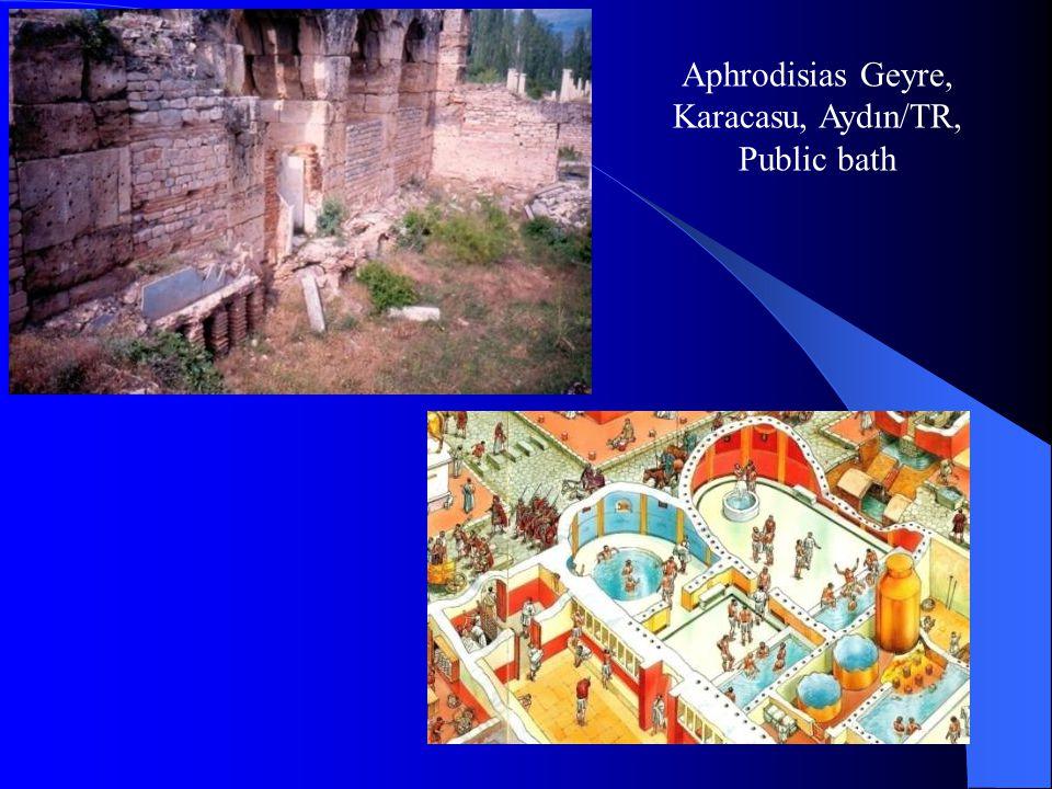 Aphrodisias Geyre, Karacasu, Aydın/TR, Public bath