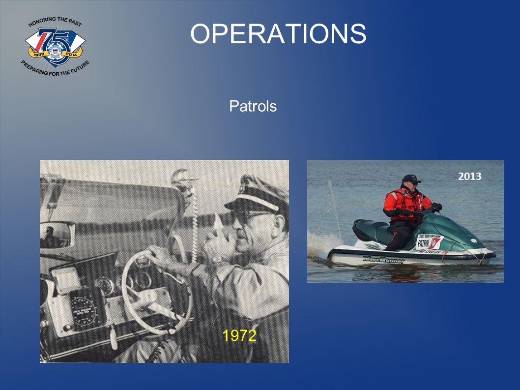 OPERATIONS Patrols 1972