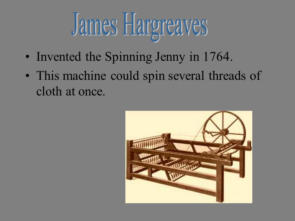 Inventors and Famous Inventions (Click on Pictures)