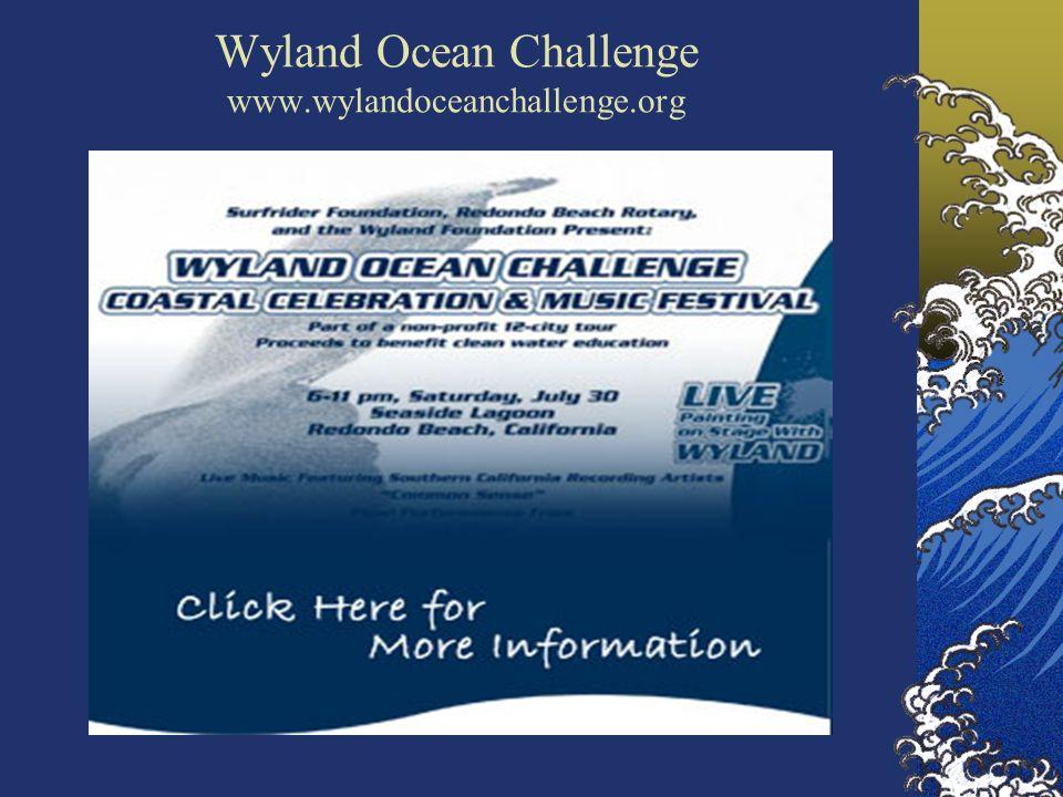 Wyland Ocean Challenge www.wylandoceanchallenge.org