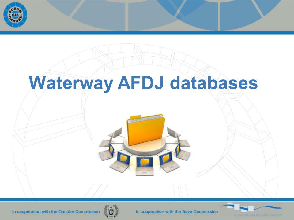Waterway AFDJ databases