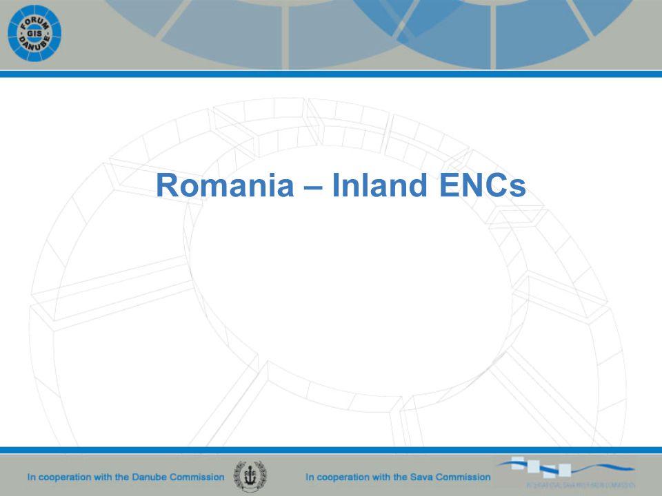 Romania – Inland ENCs