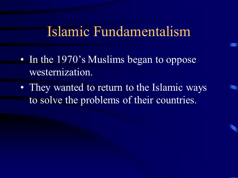 Libya Muammar al-Qaddafi takes control in 1969.Bases his government on Islamic principals.