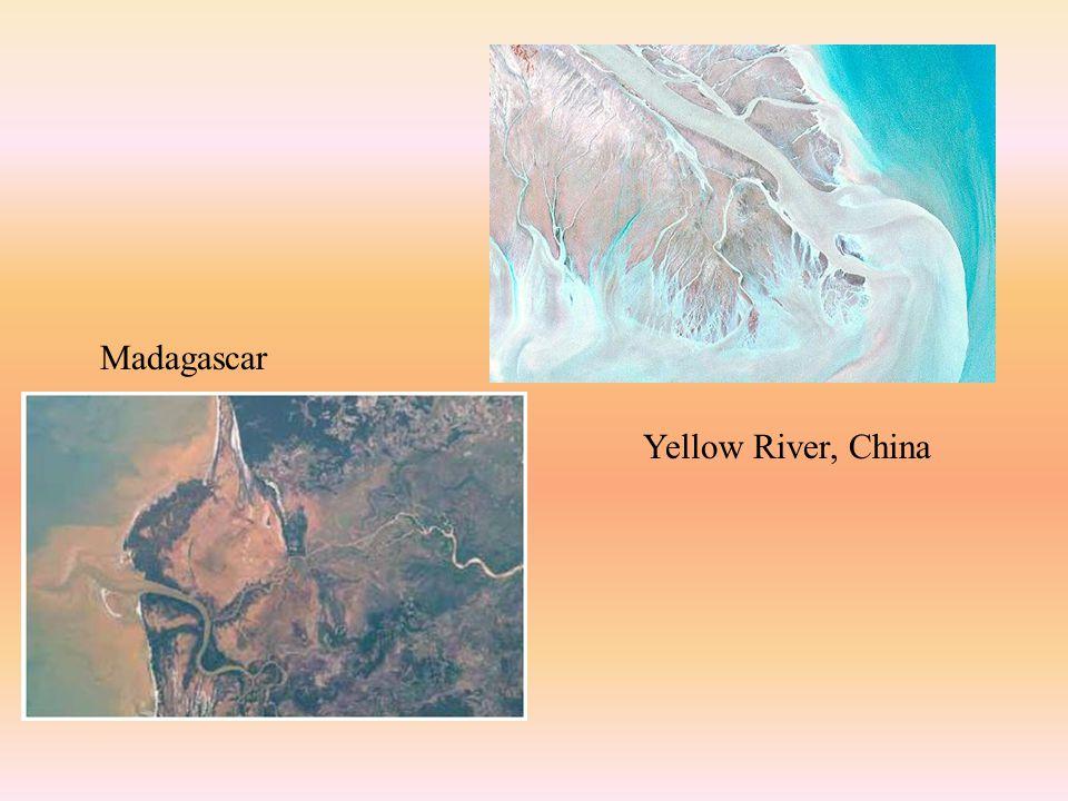 Yellow River, China Madagascar