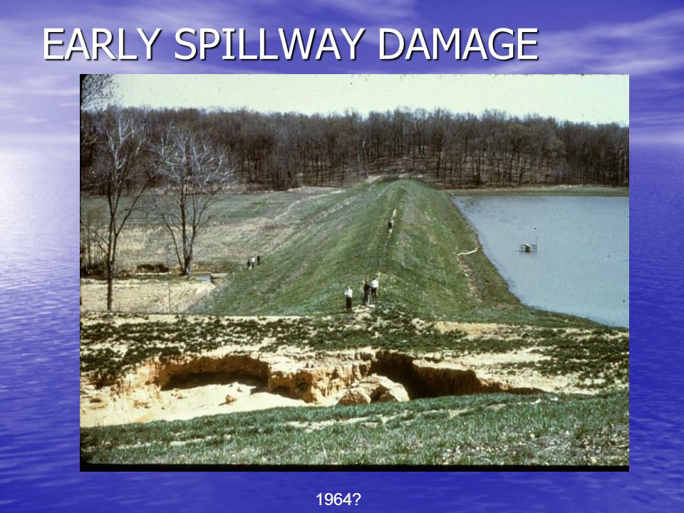 Earth and vegetated emergency spillways are designed on the basis that some erosion or scour may be permissible if its occurrence is infrequent.....