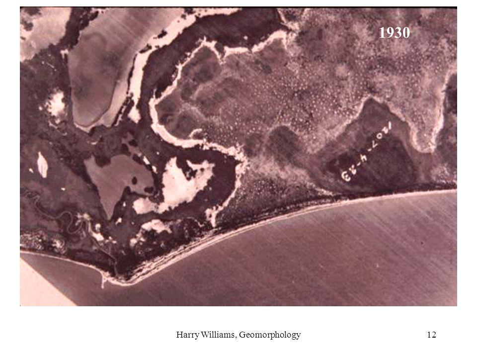 Harry Williams, Geomorphology12 1930