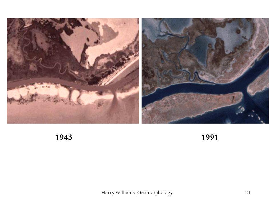 Harry Williams, Geomorphology21 19431991
