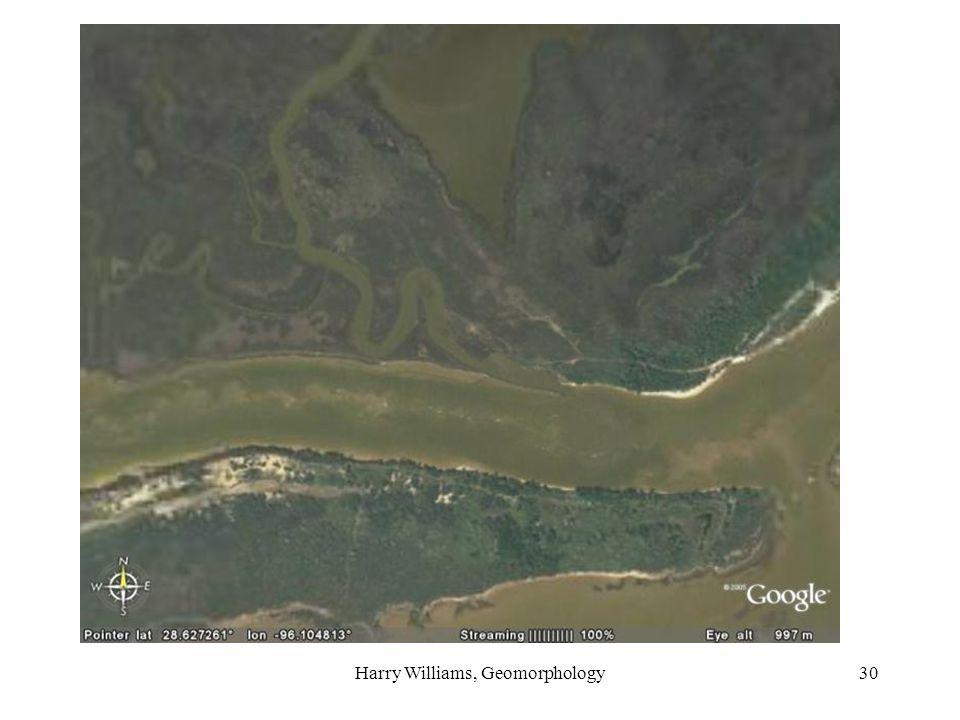 Harry Williams, Geomorphology30