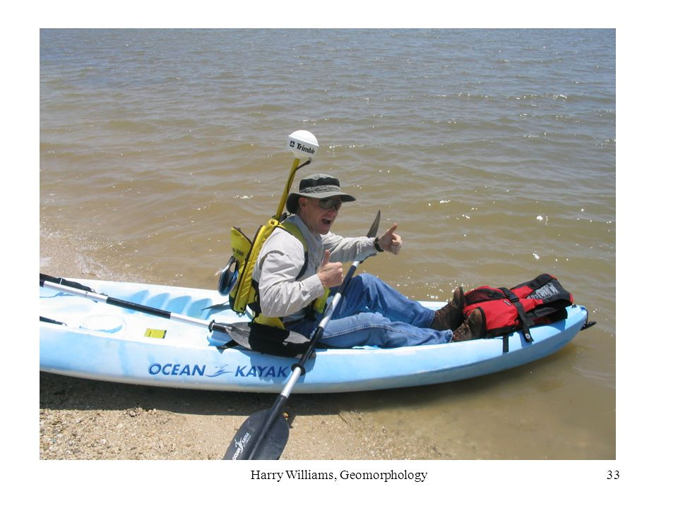 Harry Williams, Geomorphology33