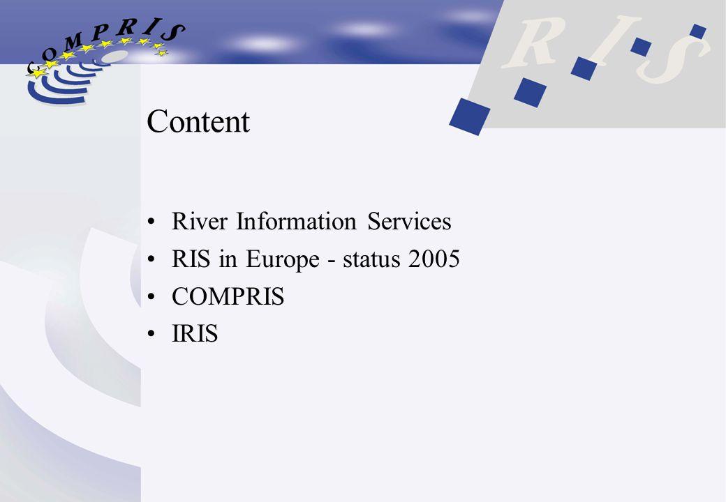 Content River Information Services RIS in Europe - status 2005 COMPRIS IRIS