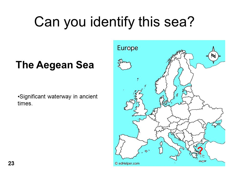 Can you identify this sea.