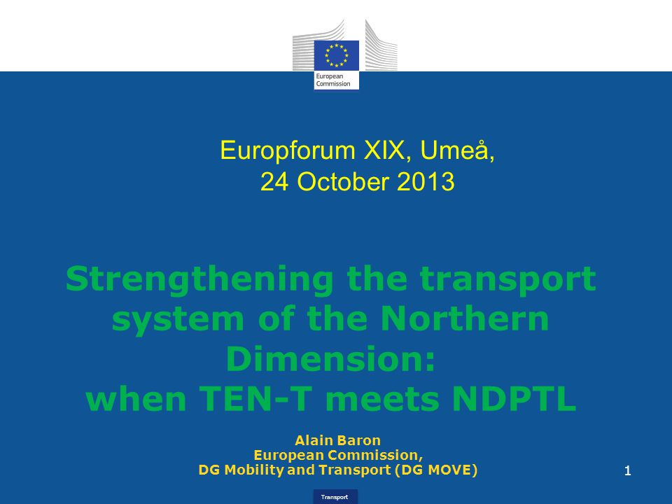 | 12 Transeuropean Transport Network Art 1.