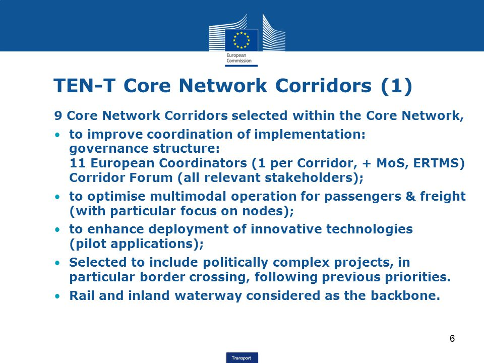 | 17 Transeuropean Transport Network