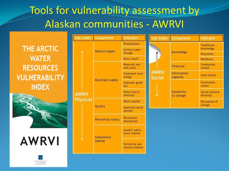 Tools for vulnerability assessment by Alaskan communities - AWRVI