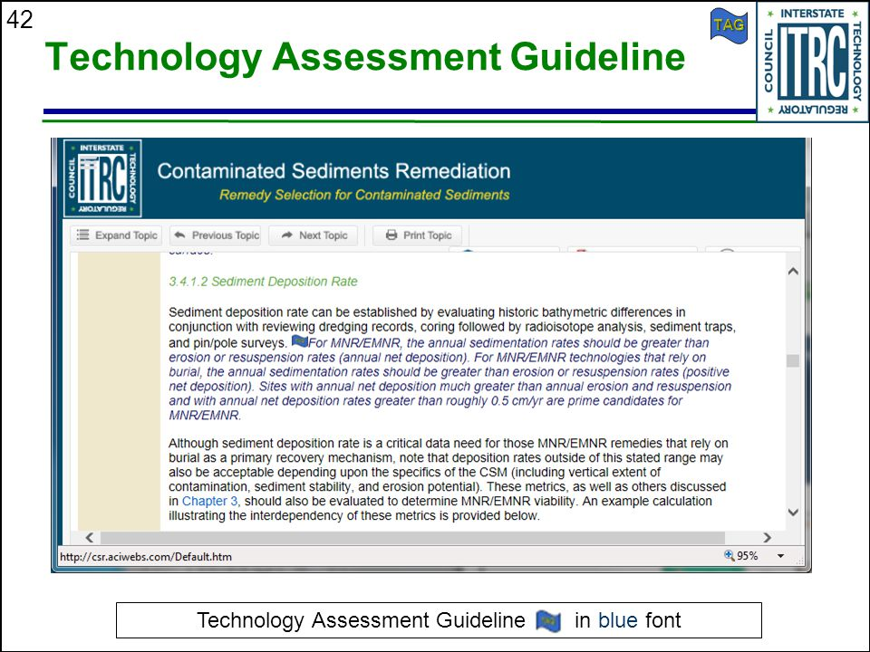 42 Technology Assessment Guideline Technology Assessment Guideline in blue font