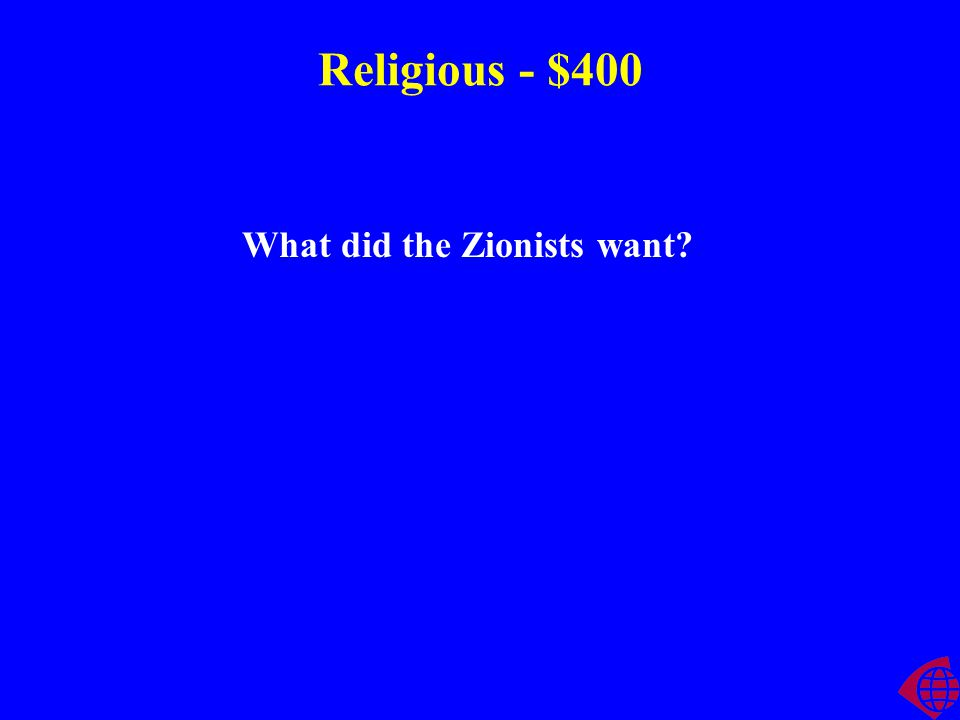 Religious - $300 How are Islam, Buddhism, and Christianity similar?